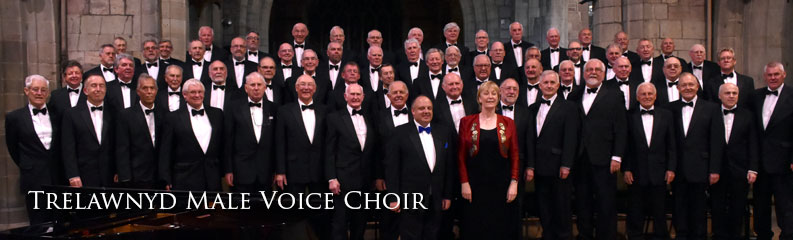Trelawnyd MVC. One of the largest choirs in North Wales